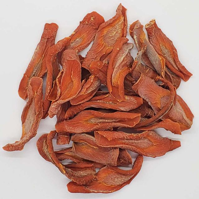 Private Label Dehydrated Carrots Dog Treats